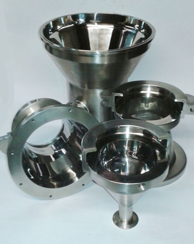 Pharmaceutical stainless steel components